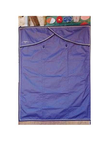 """Tenture de box bleu """"Dyon"""""""