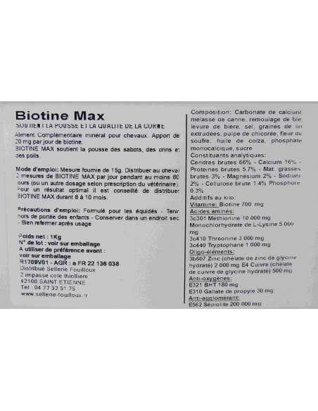 Biotine Max Equi-soins