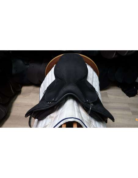 """OCCASION - Selle Thorowgood T4 Pony 1"""" Noire"""